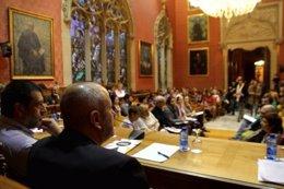 Consell de Mallorca se reune con representantes de ciudadanos