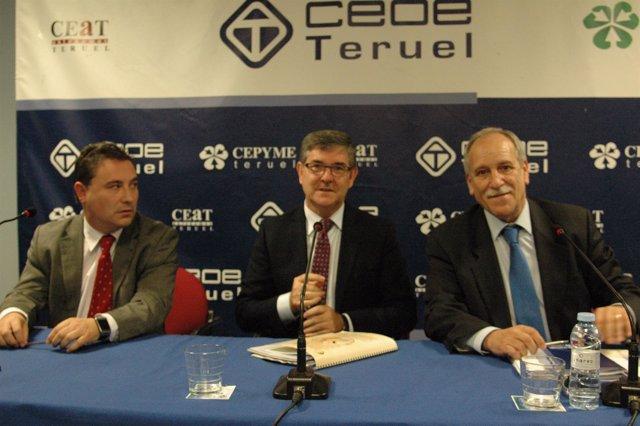 Juan Ciércoles, Vicente Guillén y Carlos Torre