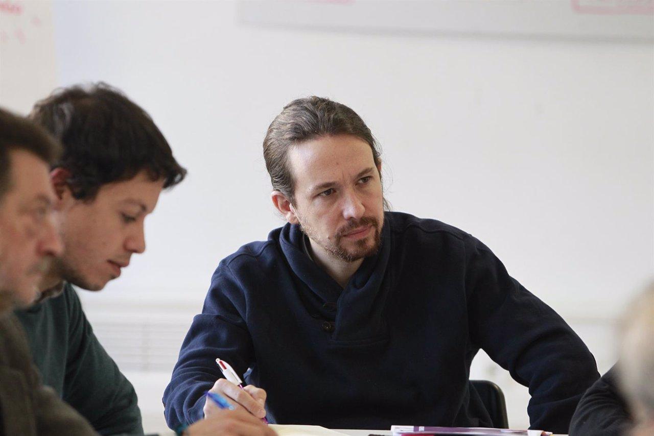 Pablo Iglesias se reúne con asociaciones de autónomos y pymes
