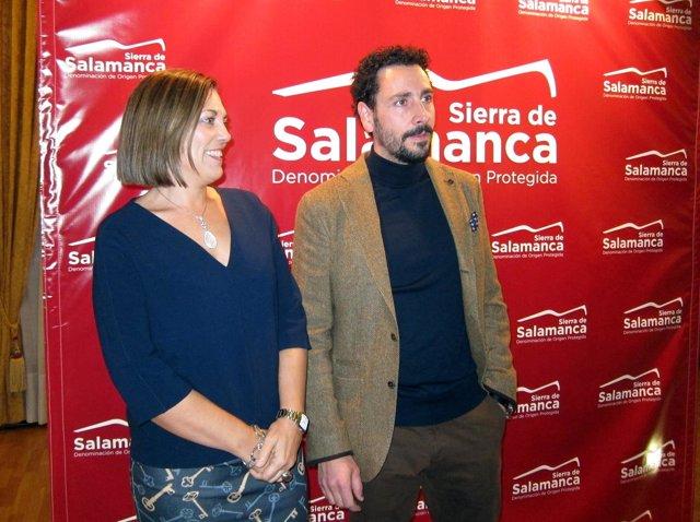 Marcos En La Presentación De Las Últimas Añadas De DOP Sierra De Salamanca