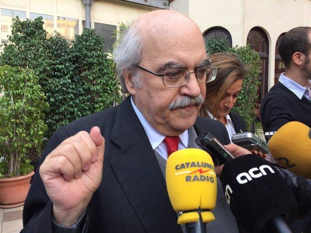 El conseller de Economía y Conocimiento de la Generalitat, Andreu Mas-Colell
