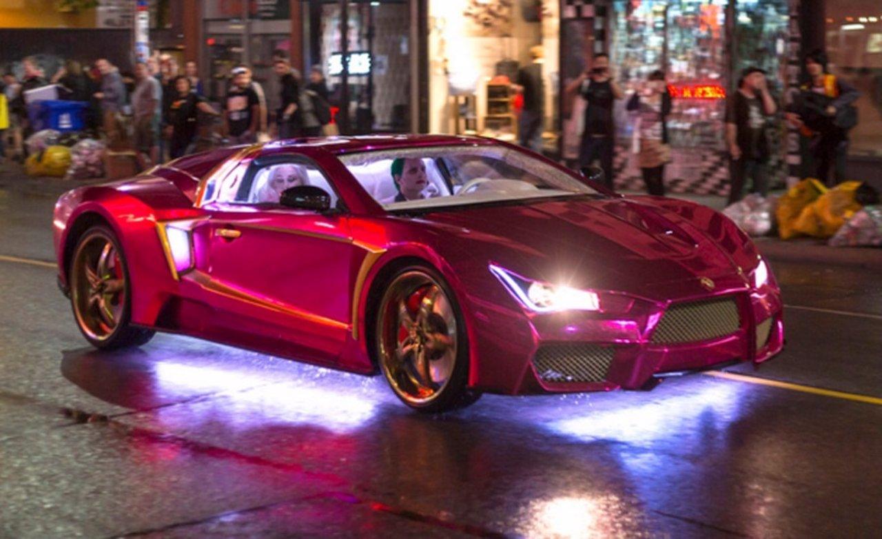 El coche del Joker de Jared Leto en Suicide Squad