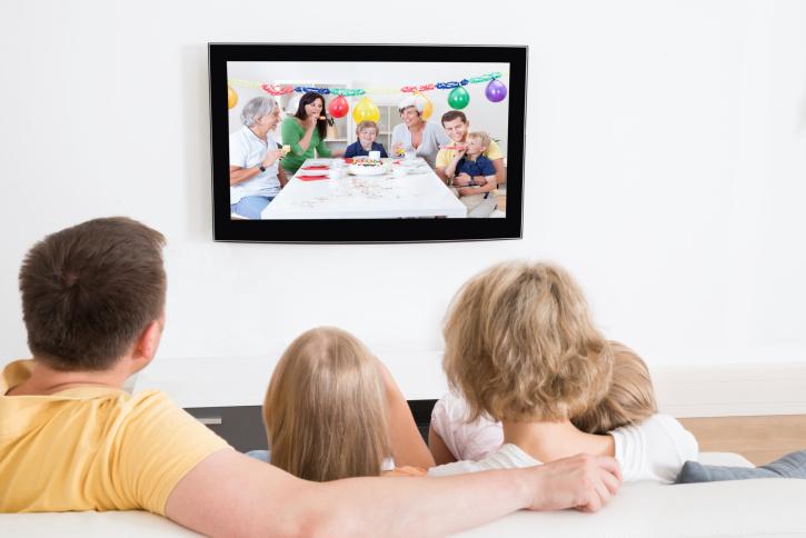 Control de la televisión para niños