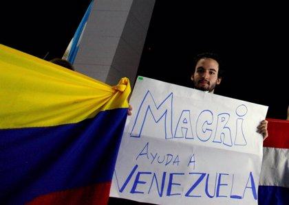 """Macri dice defender la democracia y añade que lo que ocurre en Venezuela """"no refleja eso"""""""
