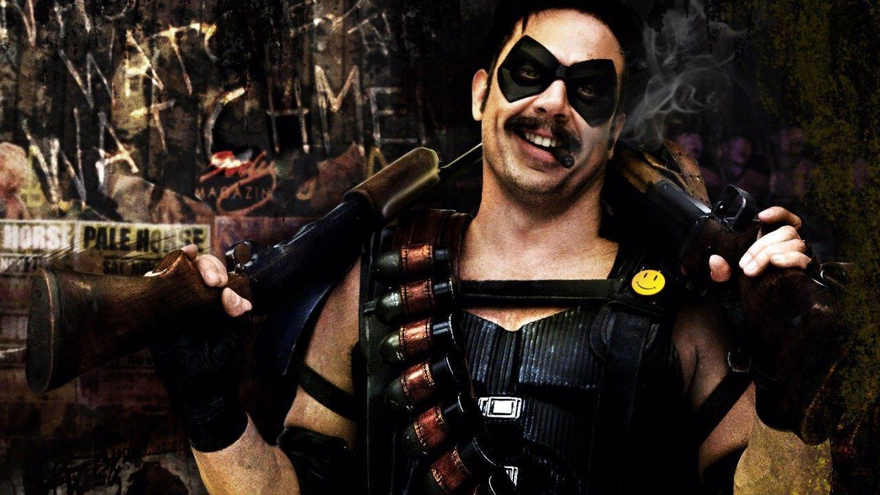 Jeffrey Dean Morgan en Watchmen