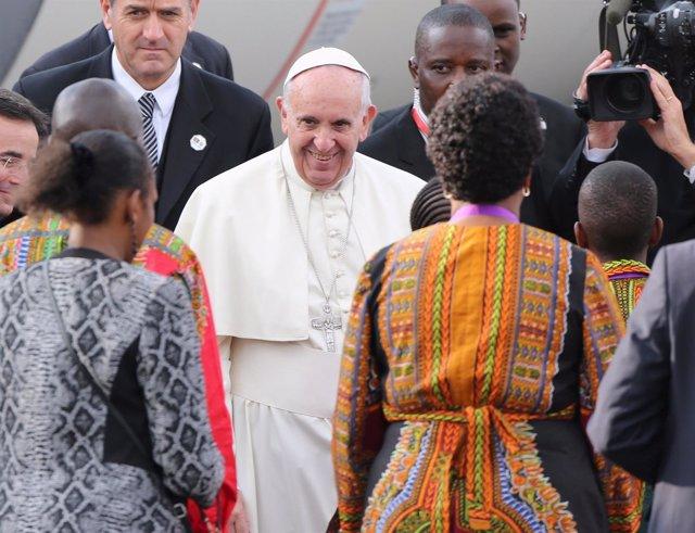 El Papa llega a Kenia