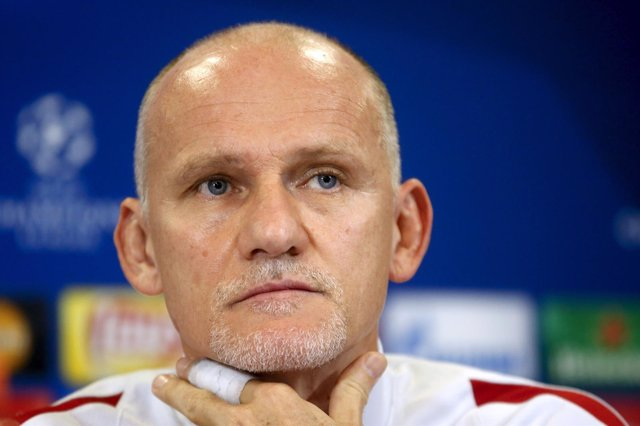 El entrenador interino del Galatasaray, Claudio Taffarel