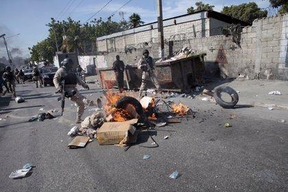 Al menos dos policías heridos en protestas en Haití tras el anuncio de los resultados de las elecciones