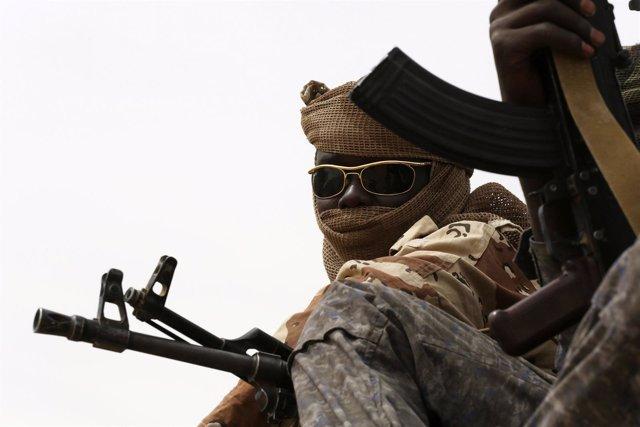Soldados en Mao, Chad