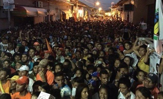 Violencia en la campaña electoral de Venezuela