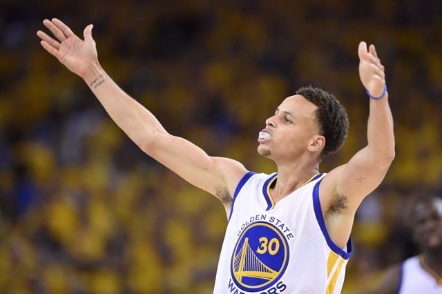 Stephen Curry en el Cleveland Cavaliers - Golden State Warriors