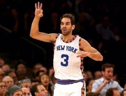 Jose Calderón con New York Knicks