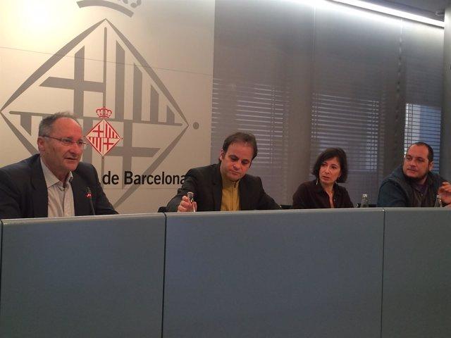 Joan Llinares, Jaume Asens, Simona Levi y David Fernández