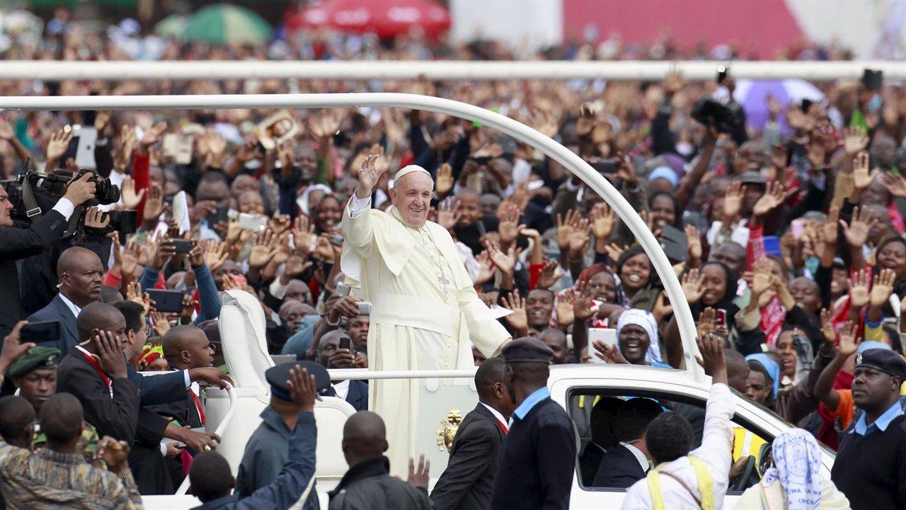 Papa Francisco en la misa en Nairobi