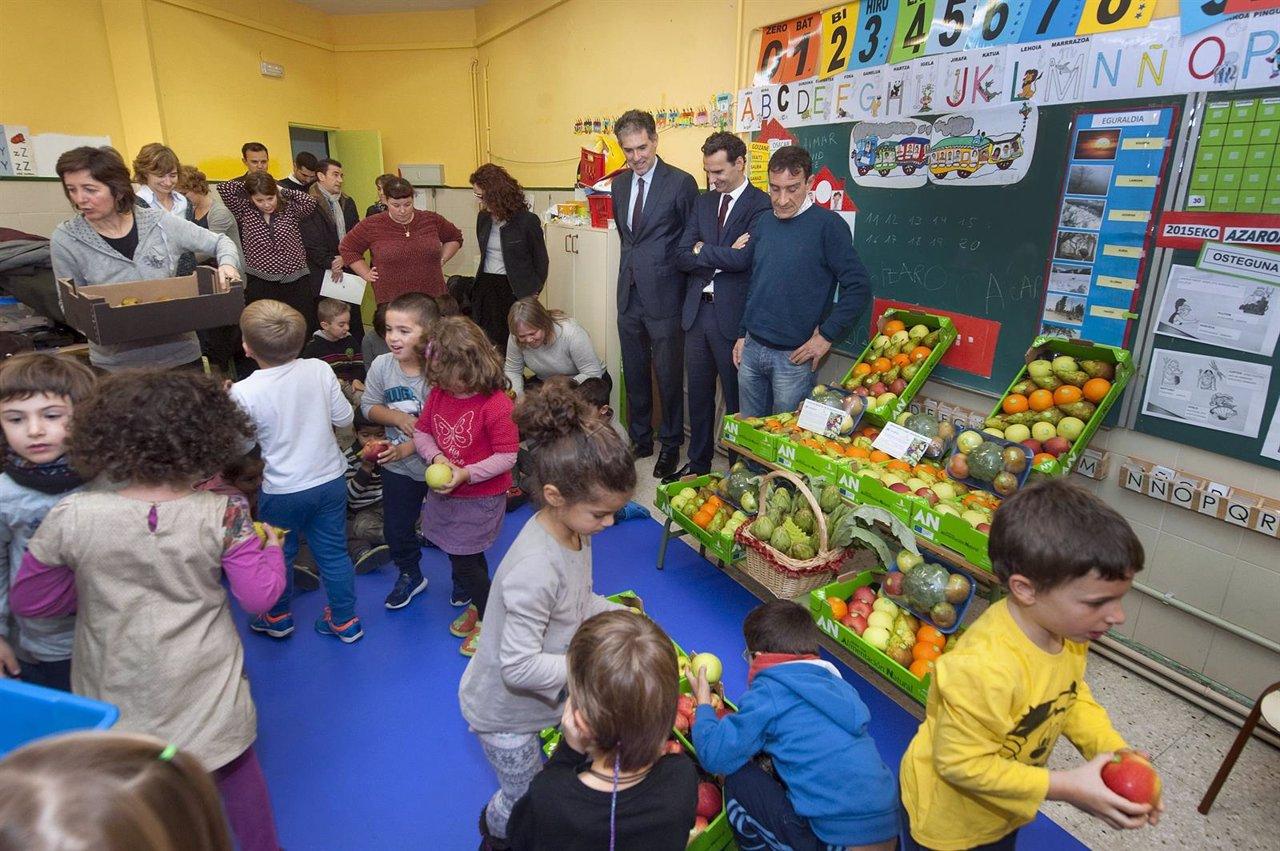 Campaña de fomento de la fruta.