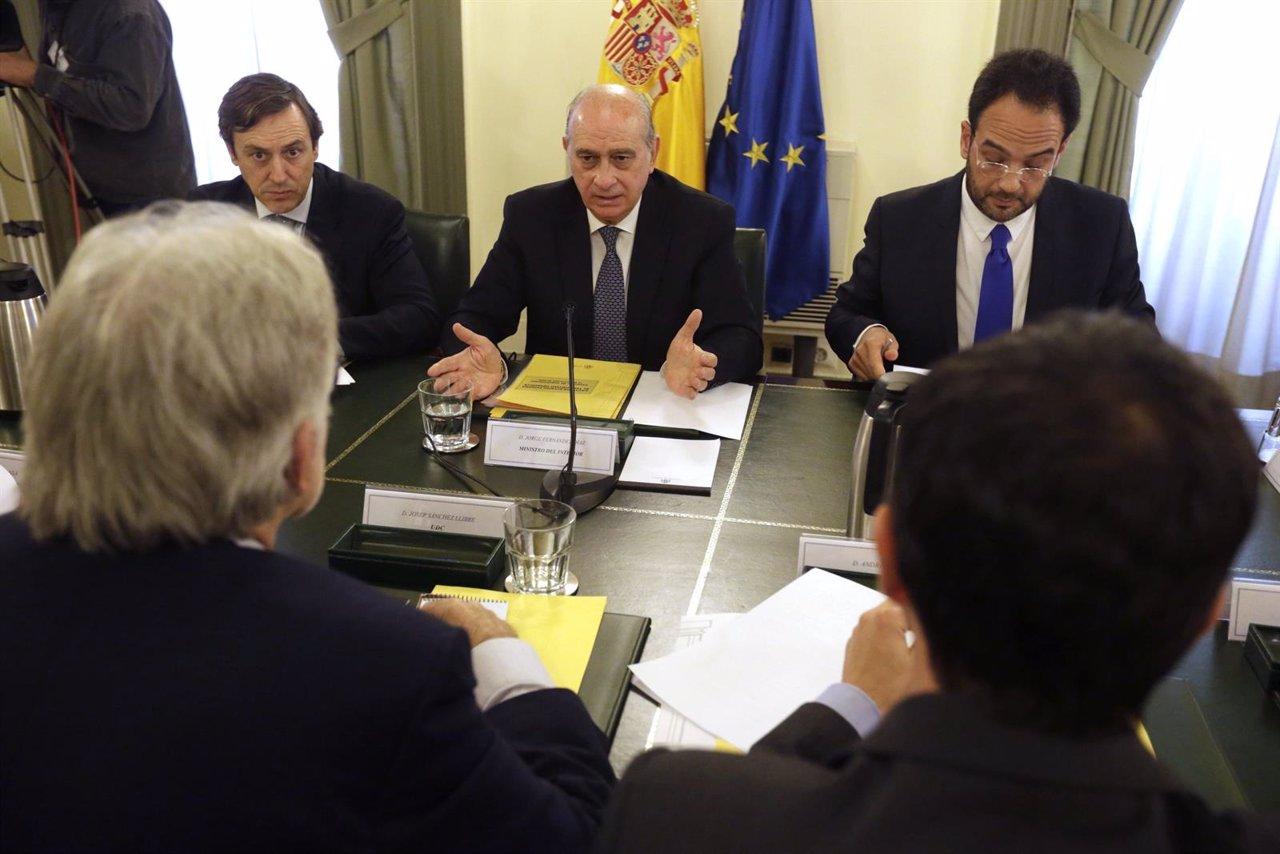 Reunión del pacto contra el terrorismo yihadista