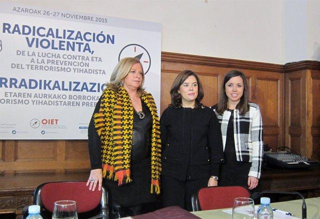 Consuelo Ordóñez, Soraya Saénz de Santamaría