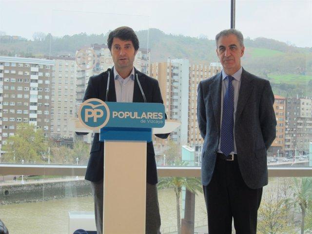 Javier Ruiz y Leopoldo Barreda