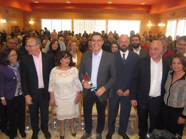 Pedro Sánchez visita la Fundación Guadalquivir Futuro en Córdoba