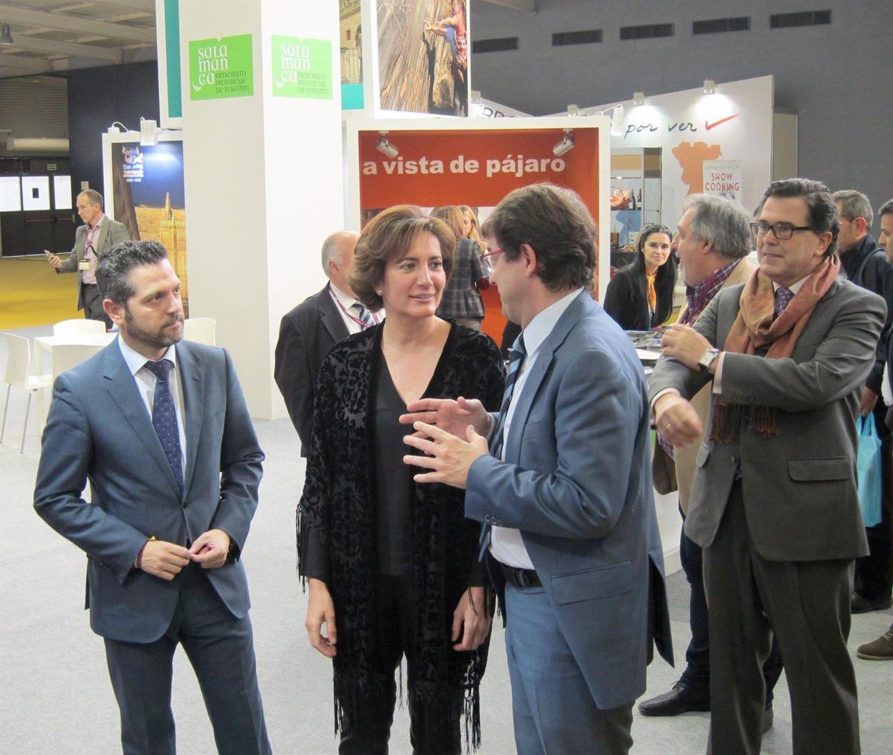 García Cirac junto a Fernández Mañueco en Intur