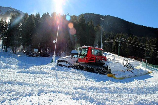 La estación de esquí de Masella