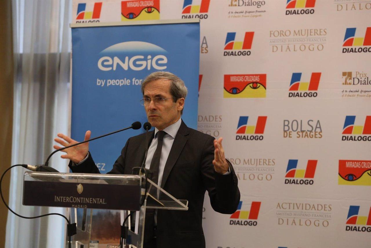 El embajador francés en España, Yves Saint-Geours
