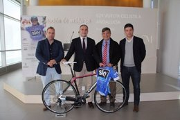 Vuelta ciclista andalucía estepona final de carrera diputación