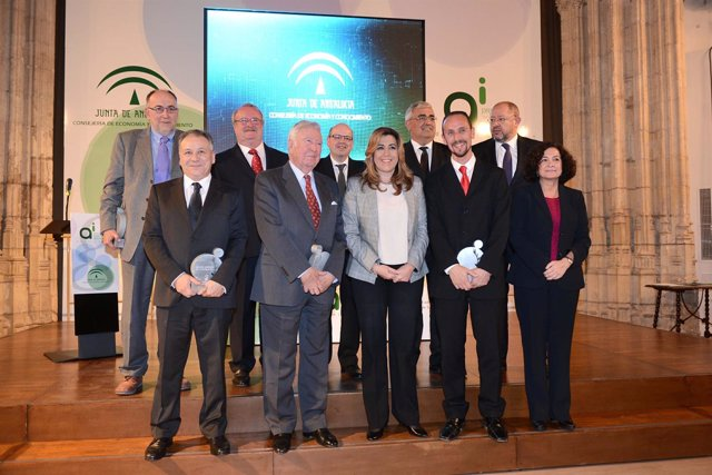 Susana Díaz entrega en Granada los Premios Andalucía de Investigación