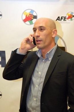Luis Rubiales, Presidente De La Asociación Española De Futbolistas