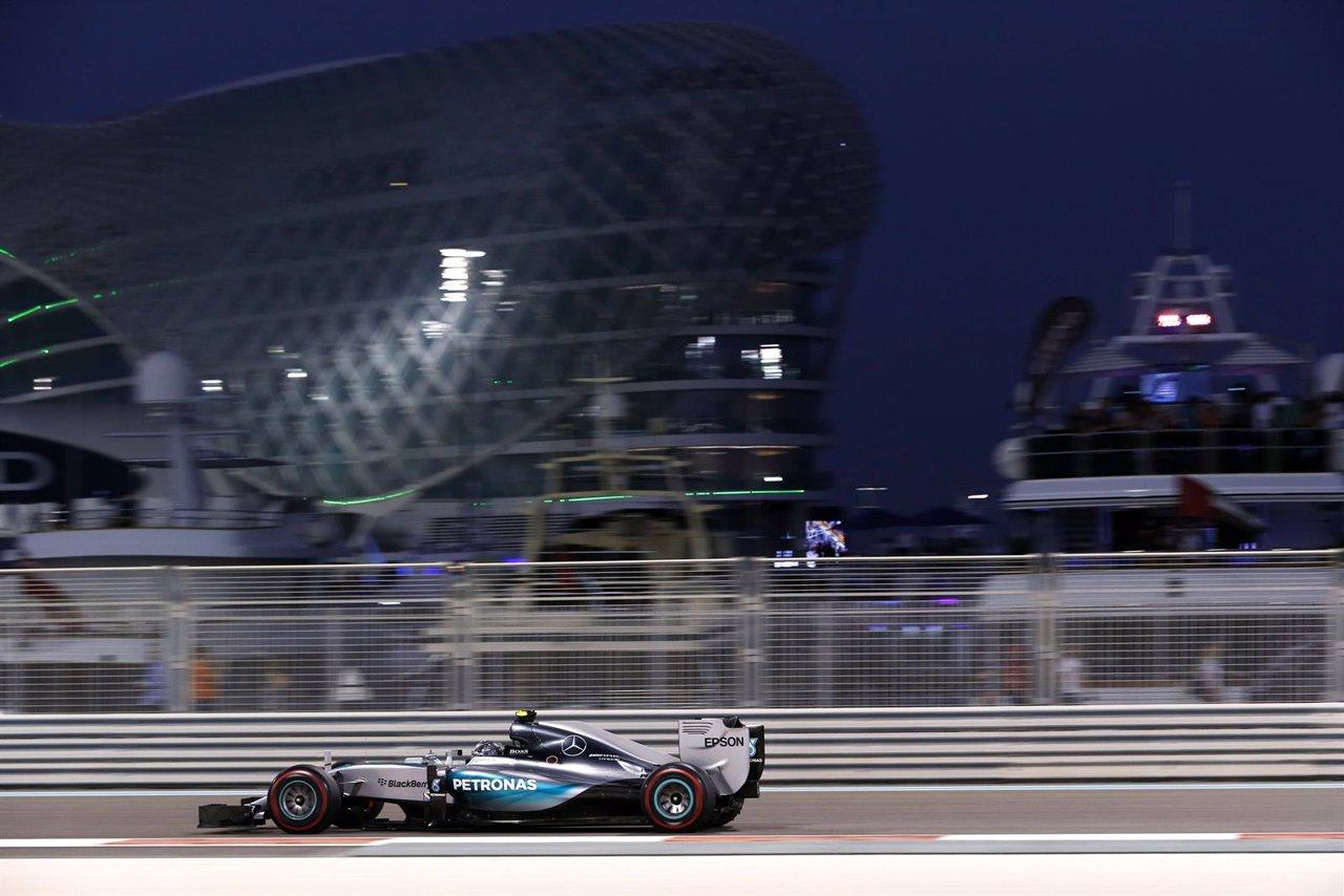Nico Rosberg Abu Dhabi