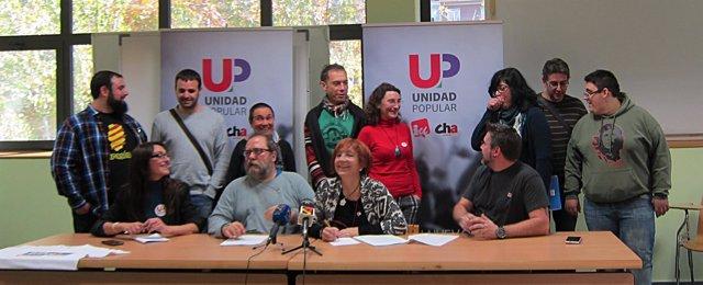 Unidad Popular ultima su programa electoral.