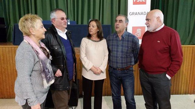 Candidatos del PSOE de Granada