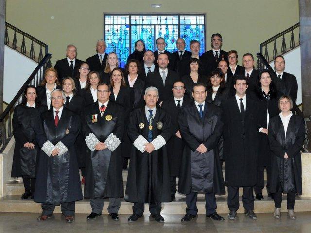 Jura anual del Colegio de Graduados Sociales de Sevilla
