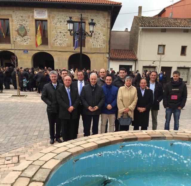 Visita José Ignacio Ceniceros a Santurde de Rioja