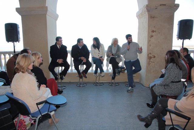 Acto del PP en Chipiona (Cádiz)