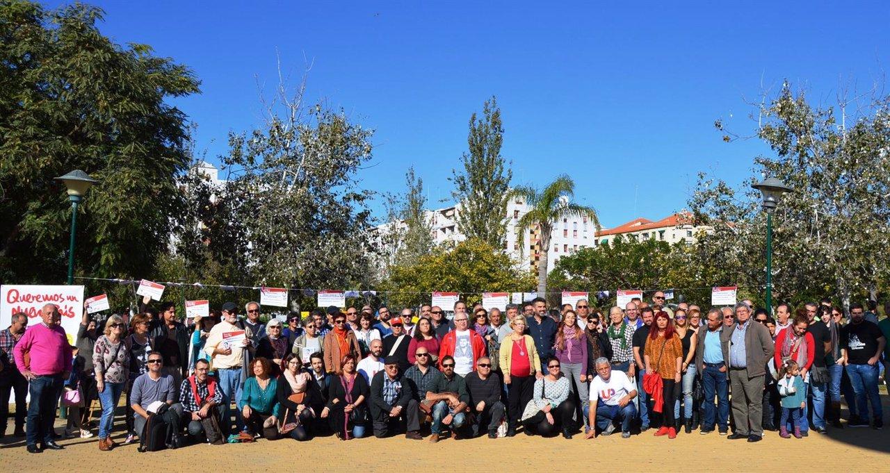 Activistas sociales apoyan candidatura UP-IU