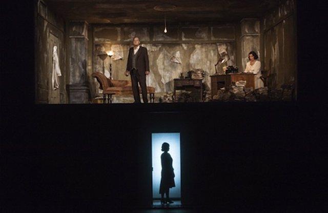 Representación del 'Castillo de Barbazul', en el Teatro Campoamor.