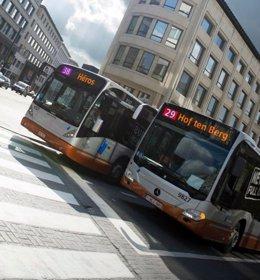 Autobuses de Bruselas