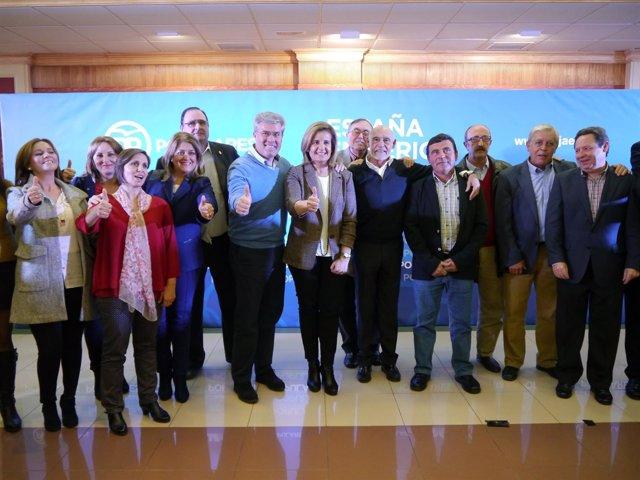 Acto del PP en Martos (Jaén) con Fátima Báñez