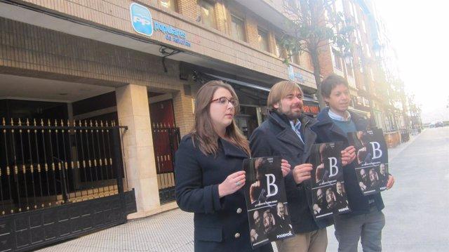 Jara González, Ripa y Segundo González presentan el ciclo de proyecciones de 'B'
