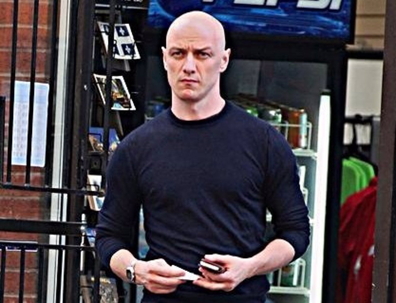 James McAvoy calvo
