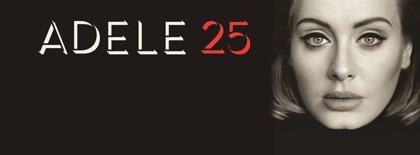 Adele consigue vender más de 3 millones de copias con su tercer álbum