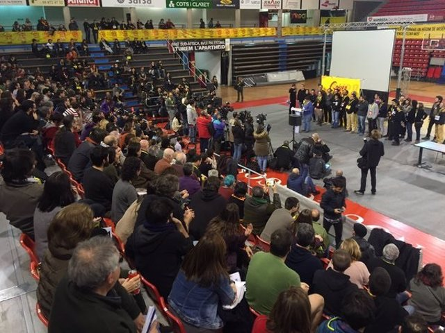 Debat Nacional de la CUP en Manresa
