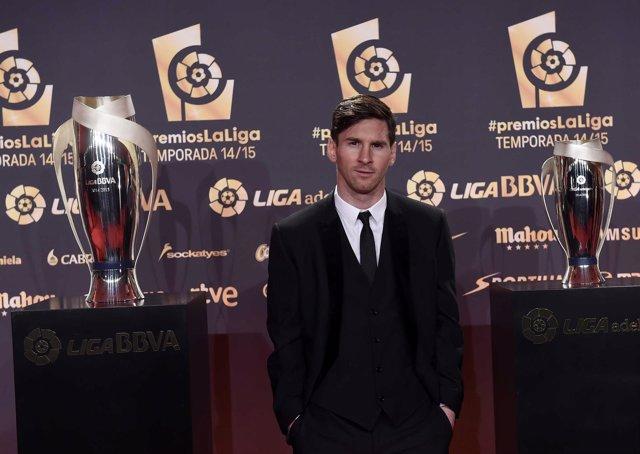 Leo Messi Premios LaLiga