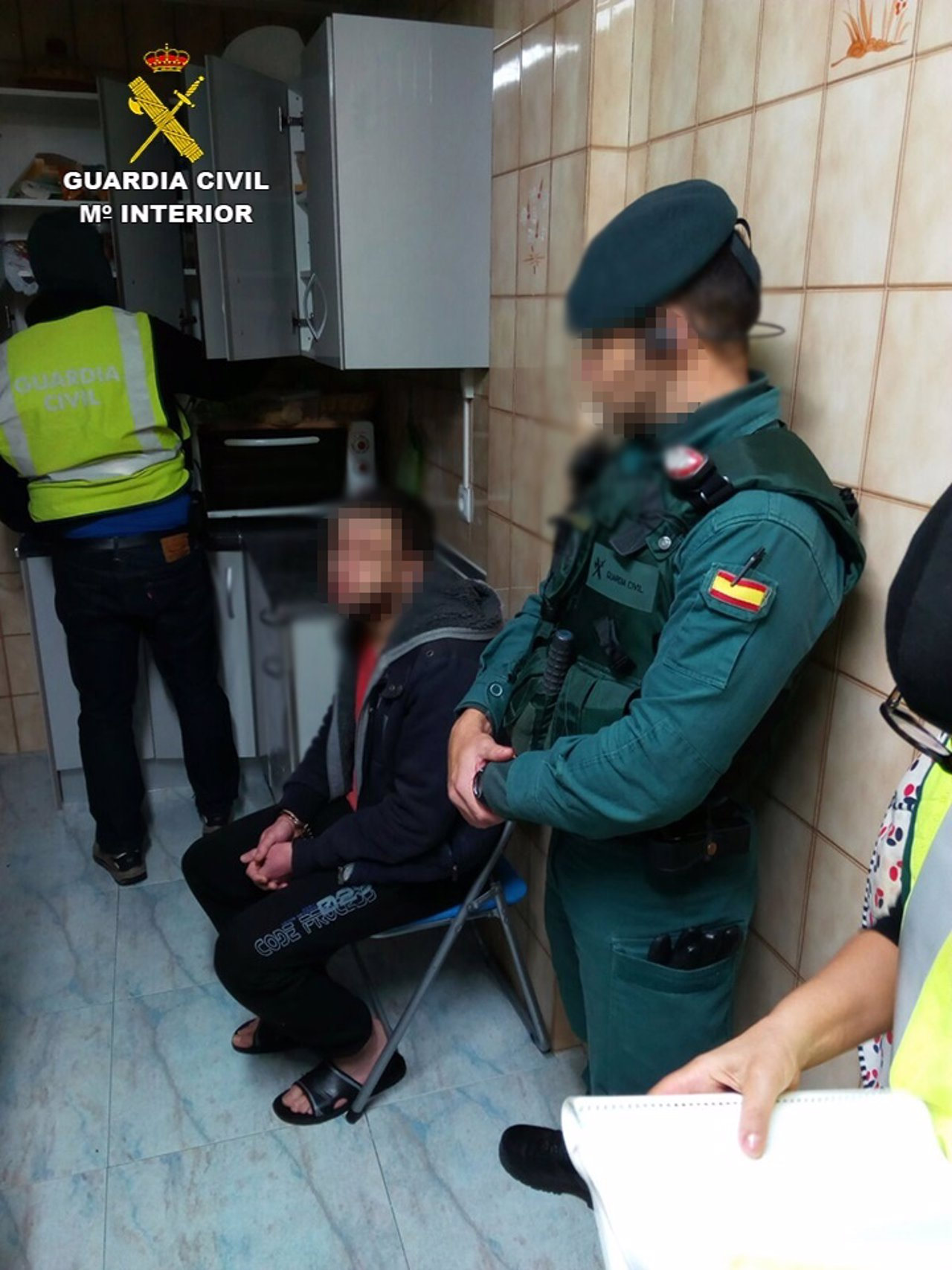 La Guardia Civil detiene en Pamplona a un hombre dispuesto a viajar a Siria