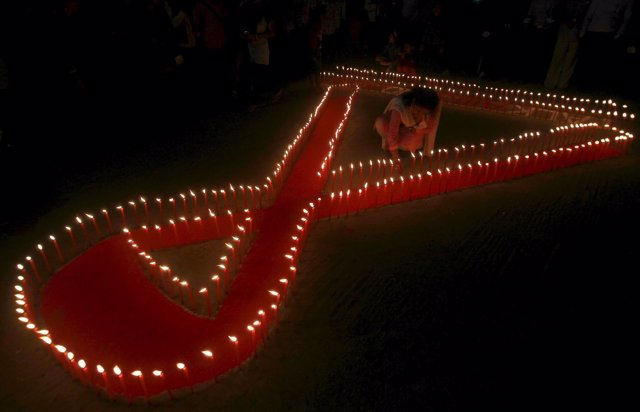 Campaña contra el sida en India