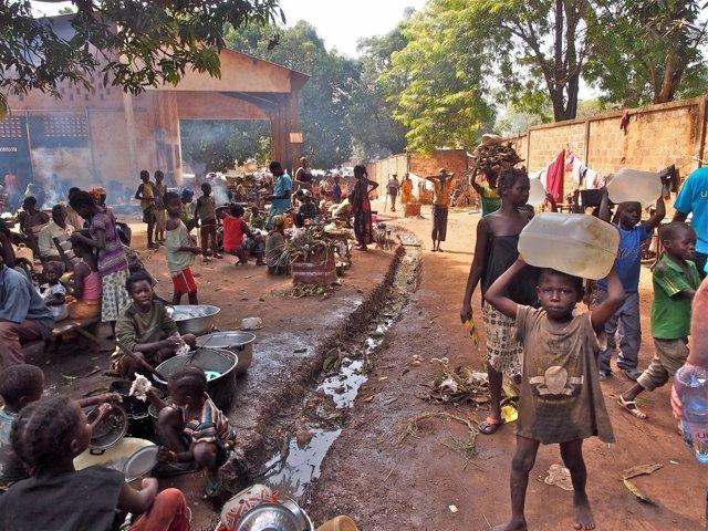 Desplazados República Centroafricana