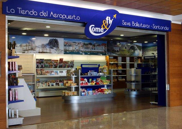 Nueva tienda del aeropuerto Seve-Ballesteros