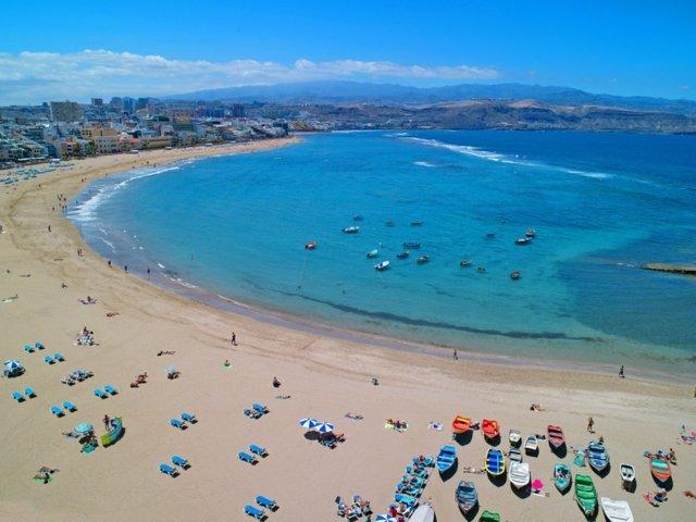 Playa de Las Canteras de Las Palmas de Gran Canaria