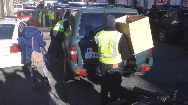 Guardia Civil detiene en Pamplona a un presunto yihadista.